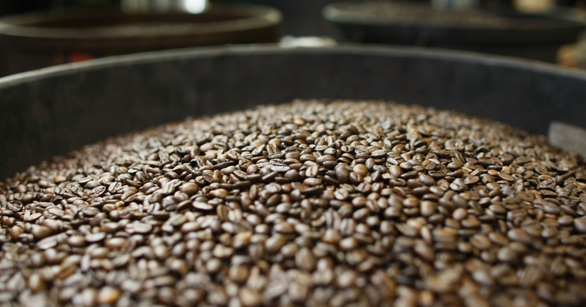 Coffee beans.</p>