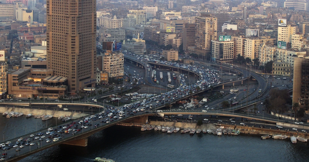 Crowded, congested Cairo is ranked by the Economist as one of the world's least competitive cities.</p>