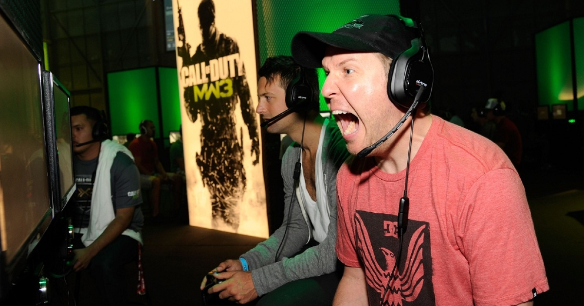 Actor Nick Swardson attends First-Ever Call of Duty XP at the Stages at Playa Vista on September 3, 2011 in Los Angeles, California.</p>