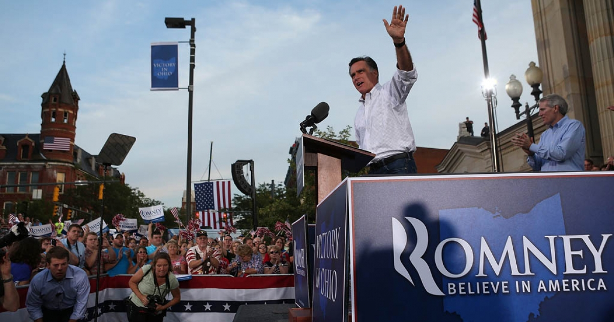 Mitt Romney, pictured here, will officially accept his nomination for president from the Republican Party on August 30, 2012.</p>