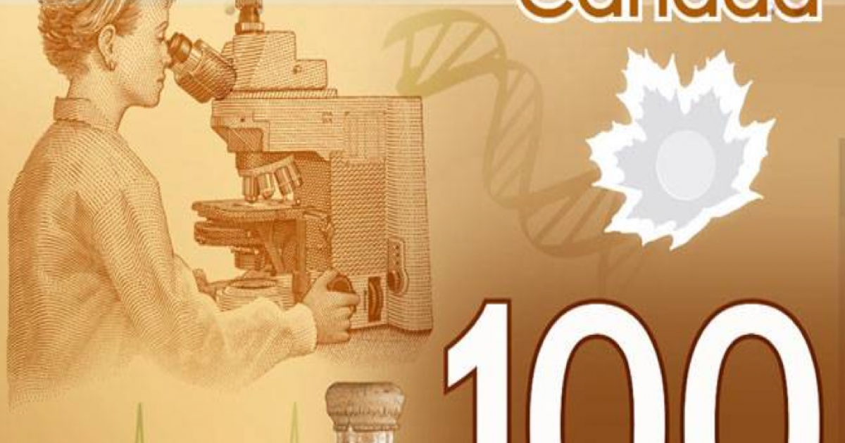 Bank of Canada was planning to feature an Asian woman on its $100 plastic banknote. But the idea was scrapped, and the woman on the bill now appears to be white.</p>