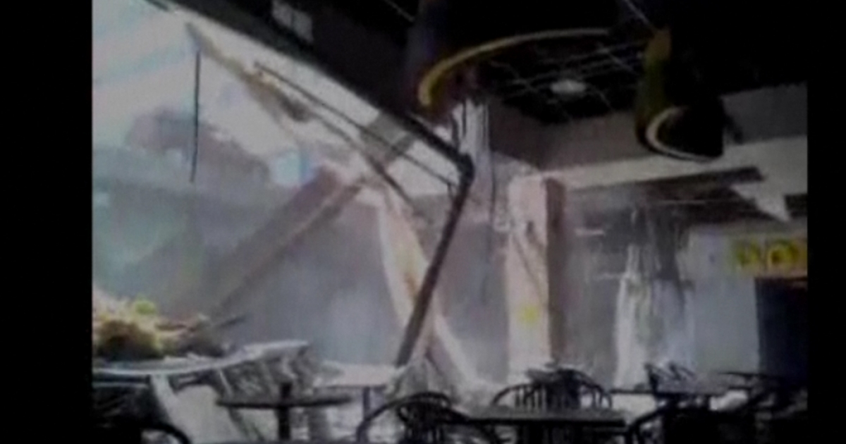 A portion of a roof collapsed in an Ontario shopping mall on June 23, 2012, leaving 22 people with minor injuries and several missing.</p>