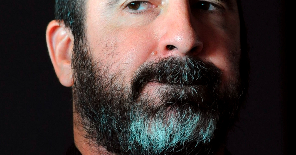 Eric Cantona - football player, actor, activist and now presidential candidate</p>