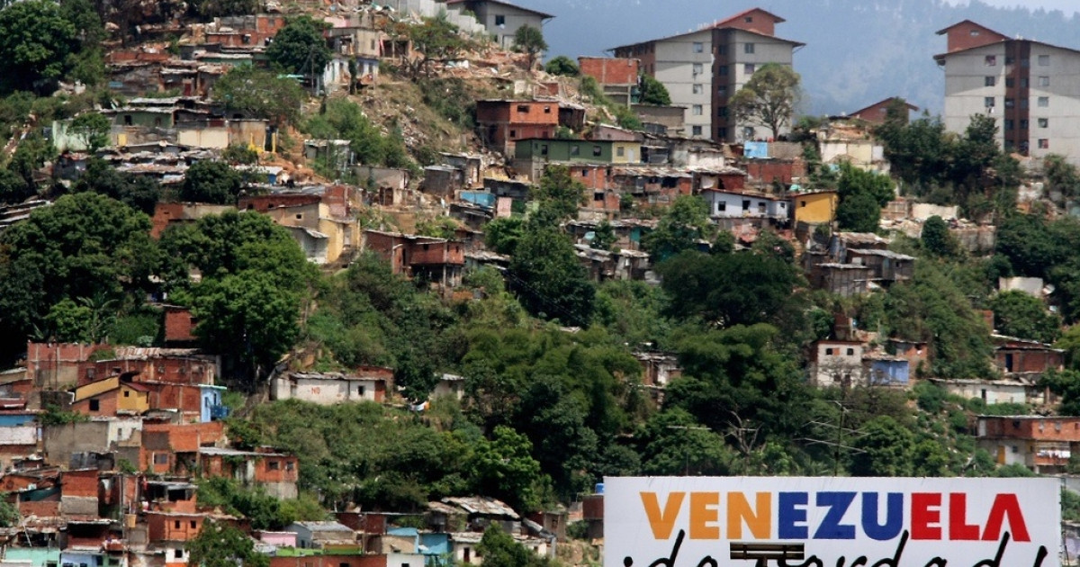 Shantytowns in Caracas:
