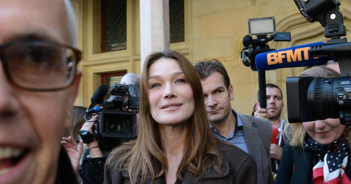 Carla Bruni-Sarkozy is restarting her music career.</p>