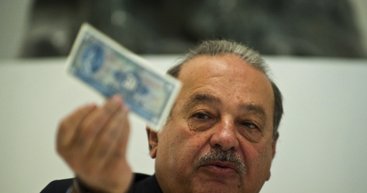 Mexican tycoon Carlos Slim just got a little richer. His company, America Movil, reported a 37.5 percent jump in first quarter net profit.</p>