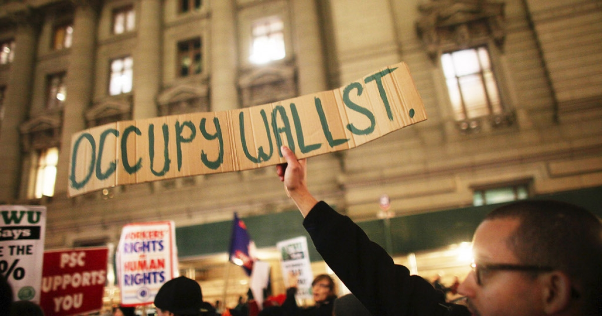 The energy and the desire for change manifested itself in 2011in the Occupy Wall Street movement. Carne Ross, a former British diplomat, has just published a book with serious suggestions for the next steps forward.</p>