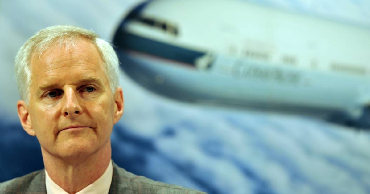 Cathay Pacific chief executive John Slosar.</p>