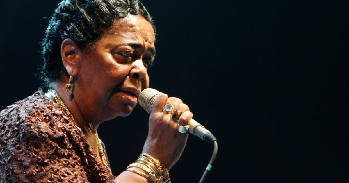 Legendary Cape Verdean singer Cesaria Evora, called Africa's
