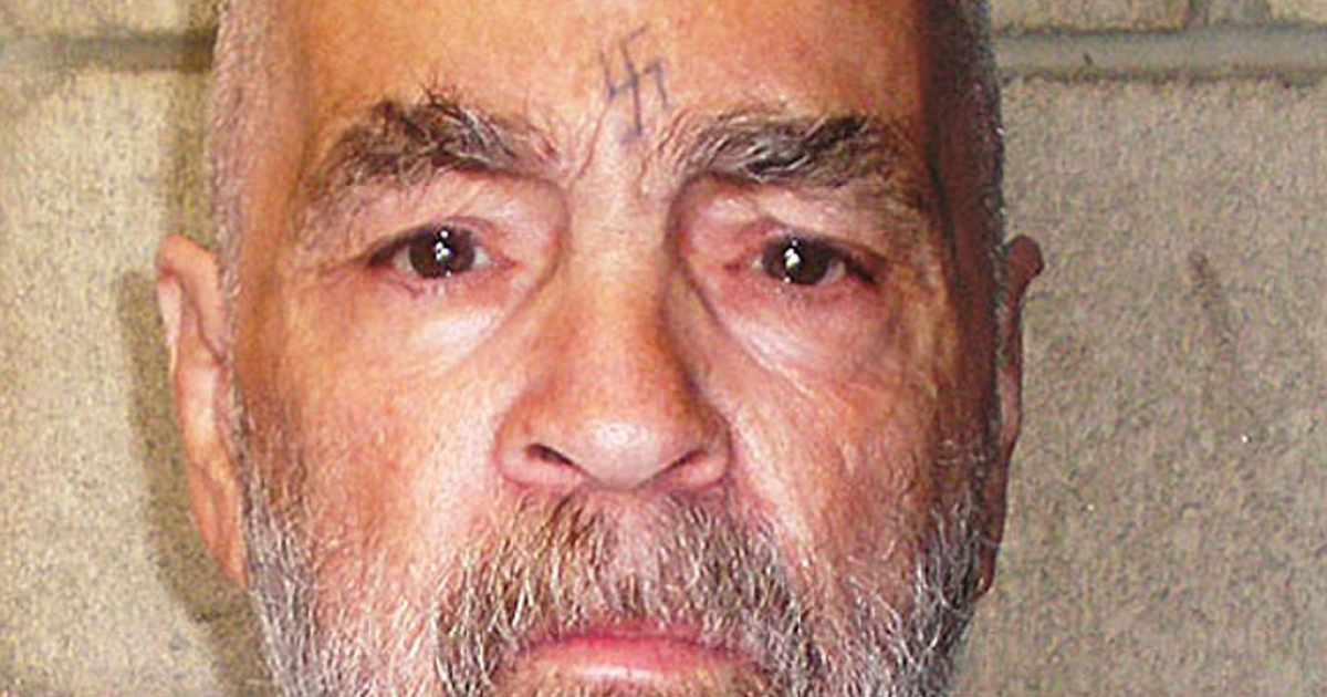 Psychopathic brain has an abnormal structure says a new study. Above: mass murderer Charles Manson in 2009.</p>