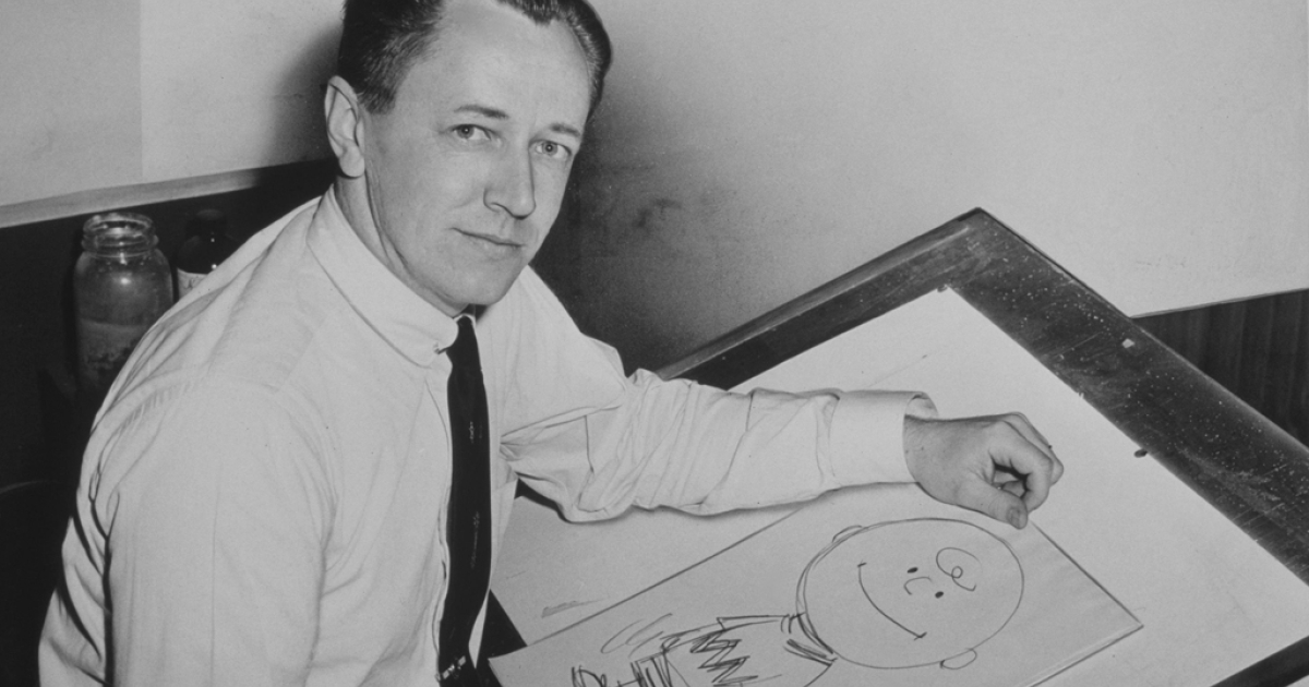Peanuts cartoonist Charles Schulz's love letters to his mistress are being put up for auction.</p>