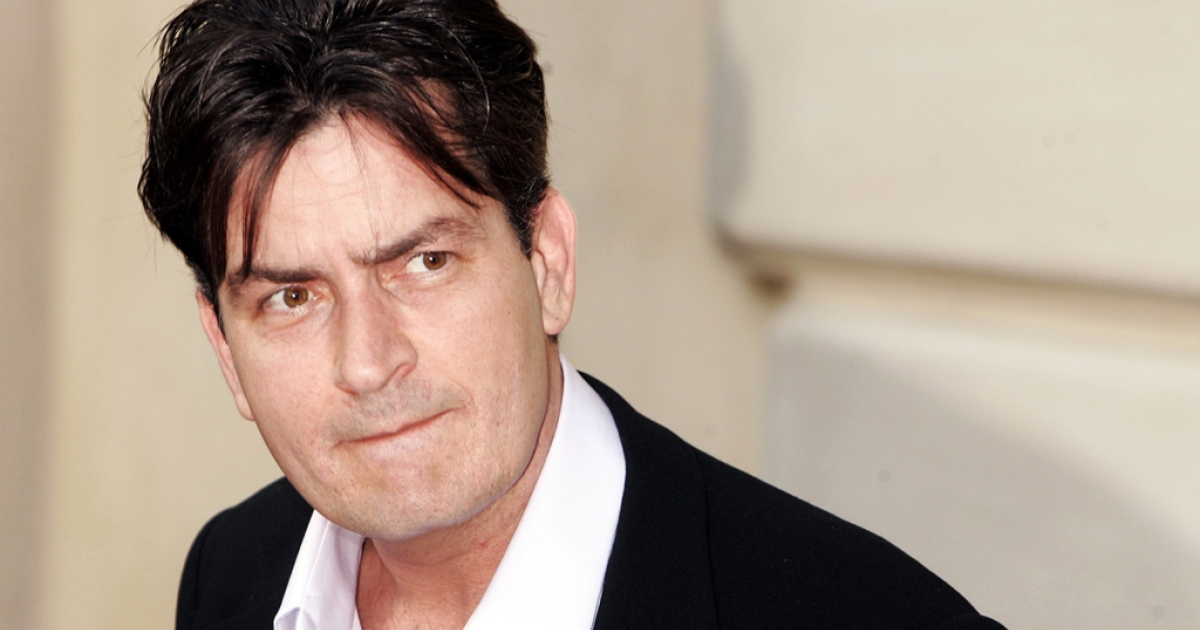 Actor Charlie Sheen on June 10, 2006 in Los Angeles, Calif.</p>