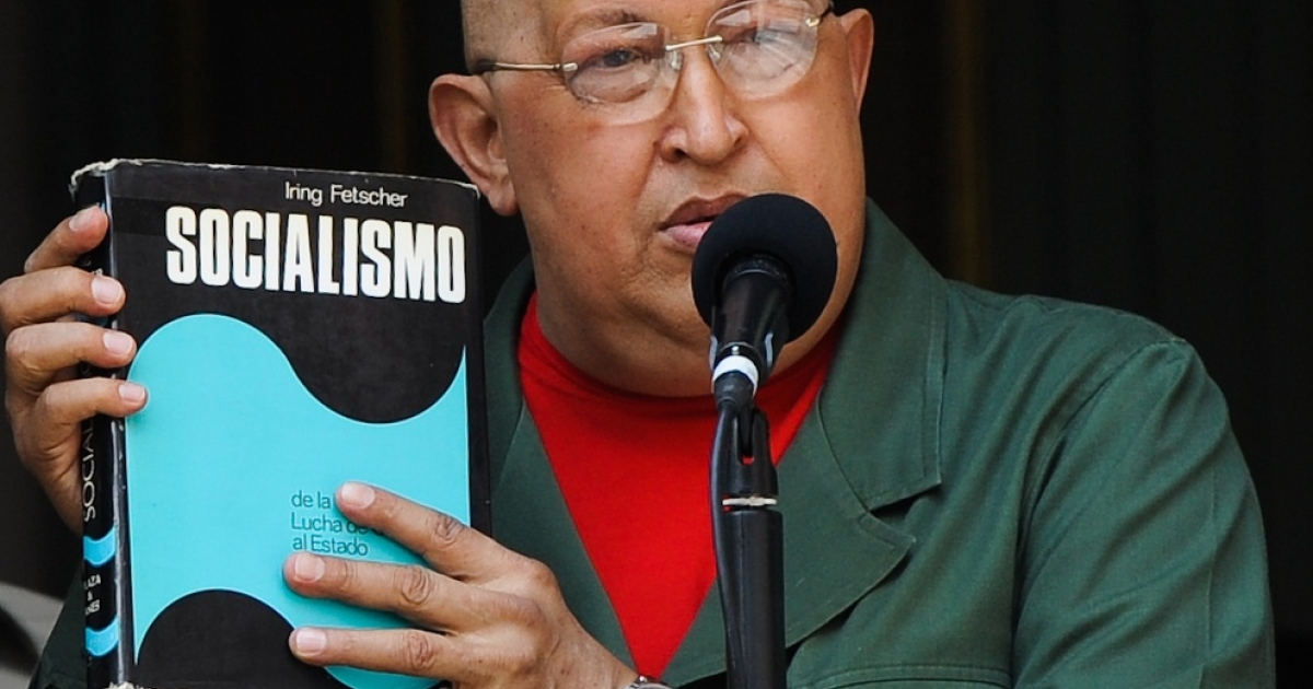 Chavez speaks on his favorite subject.</p>
