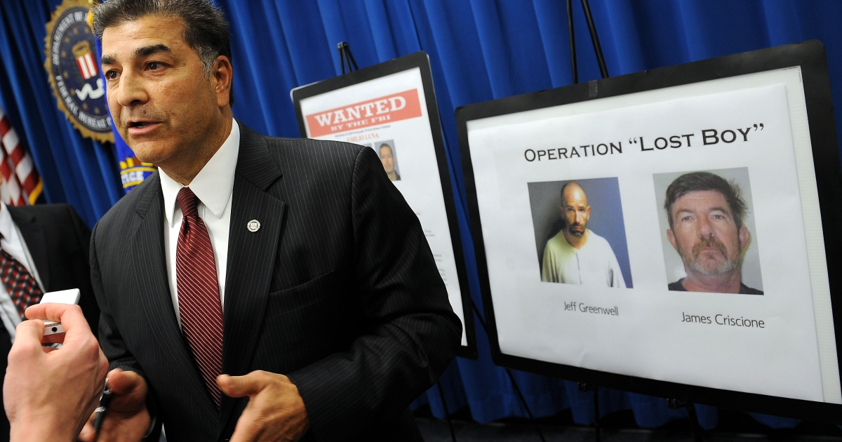 Steven Martinez, Assistant Director of the FBI in Los Angeles, speaks to reporters on December 14, 2010 in Los Angeles during a press conference after the