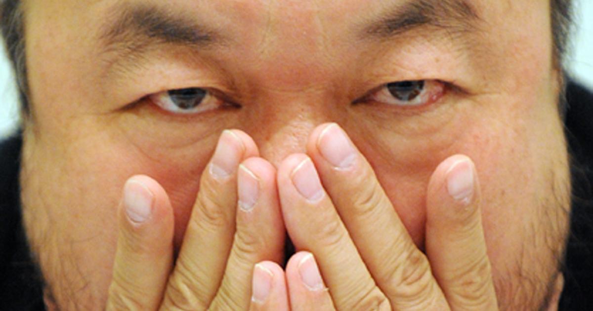 Chinese artist Ai Weiwei.</p>