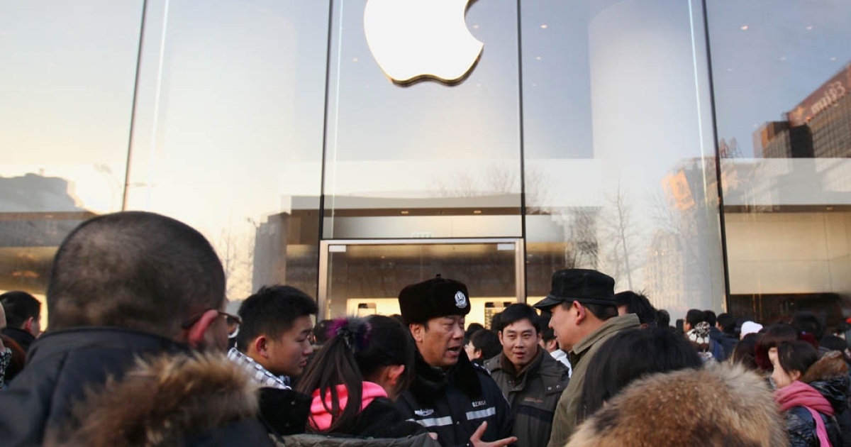 China is Apple's second largest market with iPads and iPhones increasingly popular among the country's youth.</p>