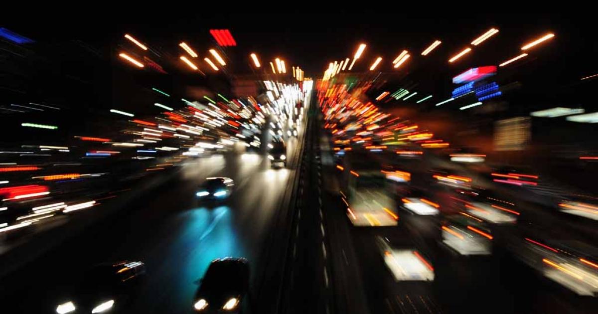 Rush hour in Beijing.</p>