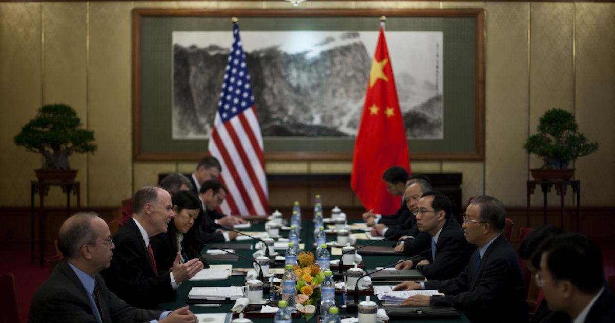 Chinese and American diplomats met in Washington this week to discuss human rights issues, but many activists think the annual talks are superficial.</p>