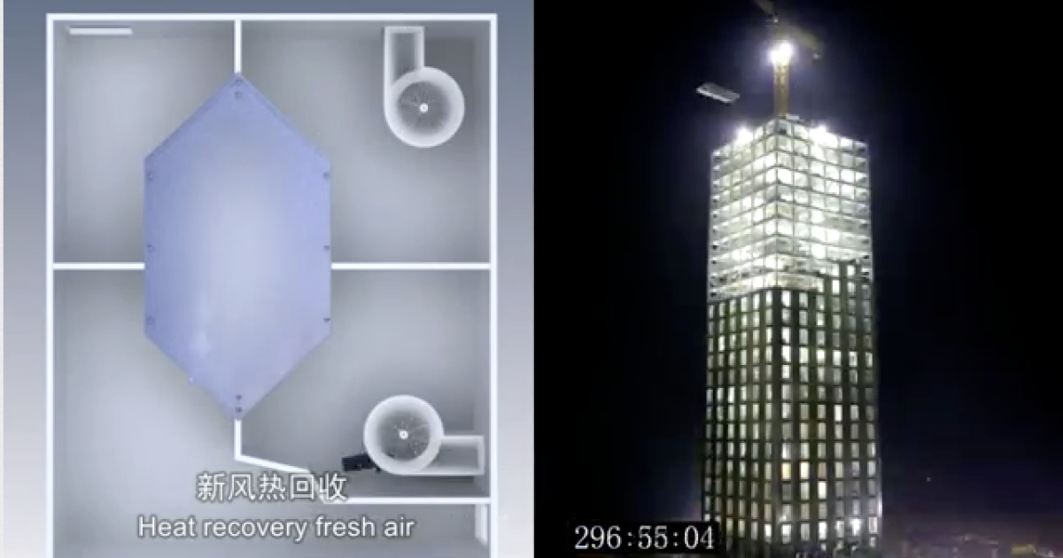 What can you accomplish in 360 hours? A Chinese firm builds a 30-story tall hotel prototype in 360 hours.</p>