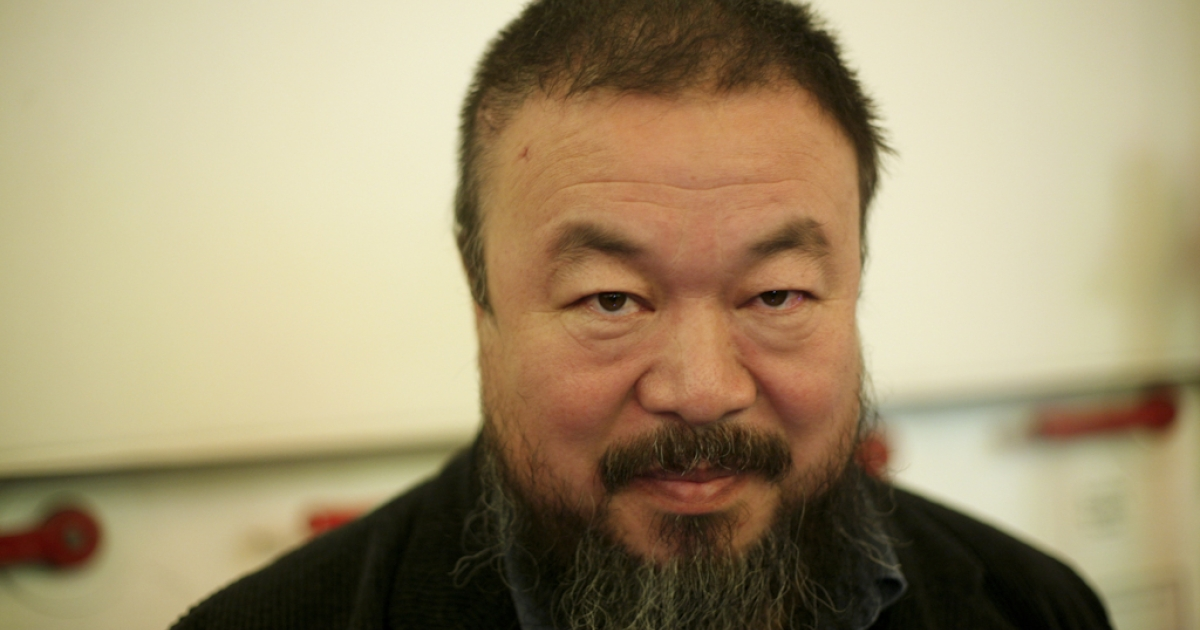 Artist Ai Weiwei is a defiant critic of China's government.</p>