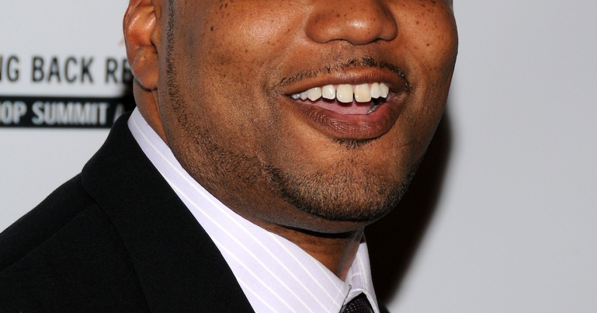 Chris Lighty is pictured in this 2008 photo. The hip-hop manager was found dead from an apparent suicide on August 30, 2012.</p>