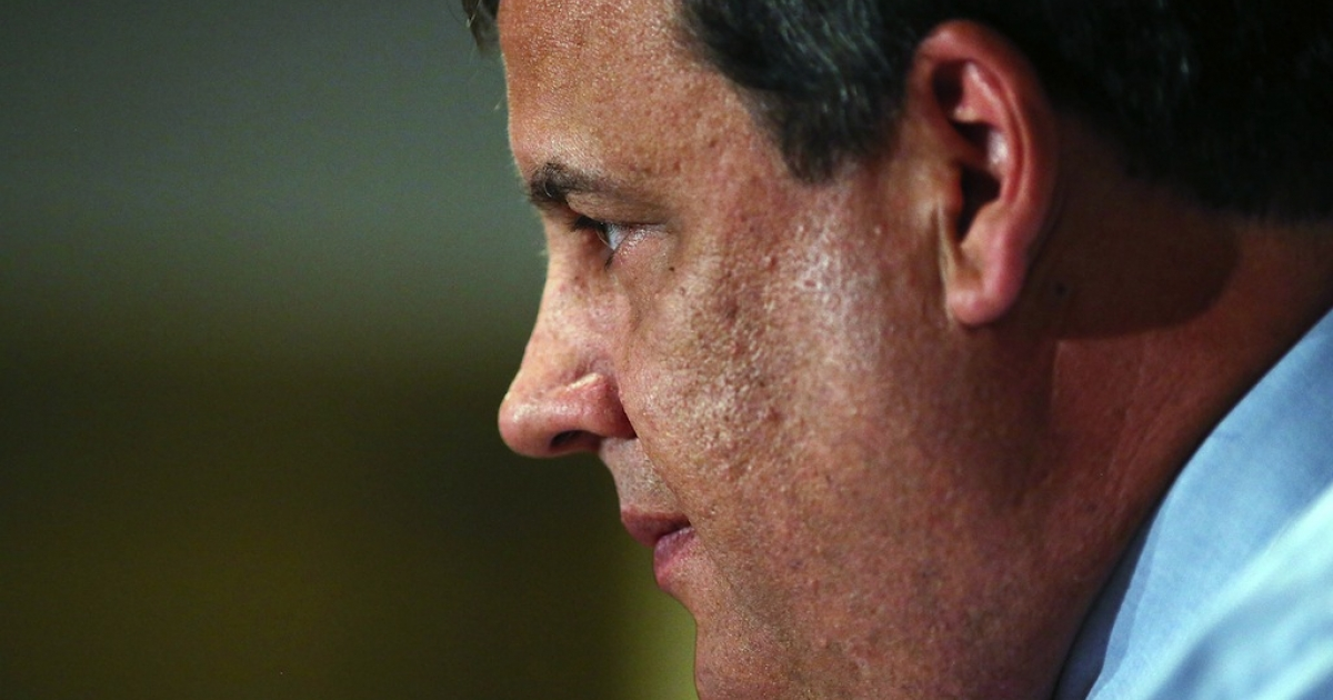 New Jersey's Republican Gov. Chris Christie was re-elected by a wide margin on Tuesday, November 5th 2013.</p>