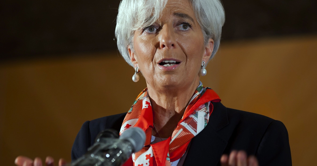 IMF Managing Director Christine Lagarde said yesterday that her staff are examining ways to expand the fund's financial firepower, which currently has around $385 billion available.</p>