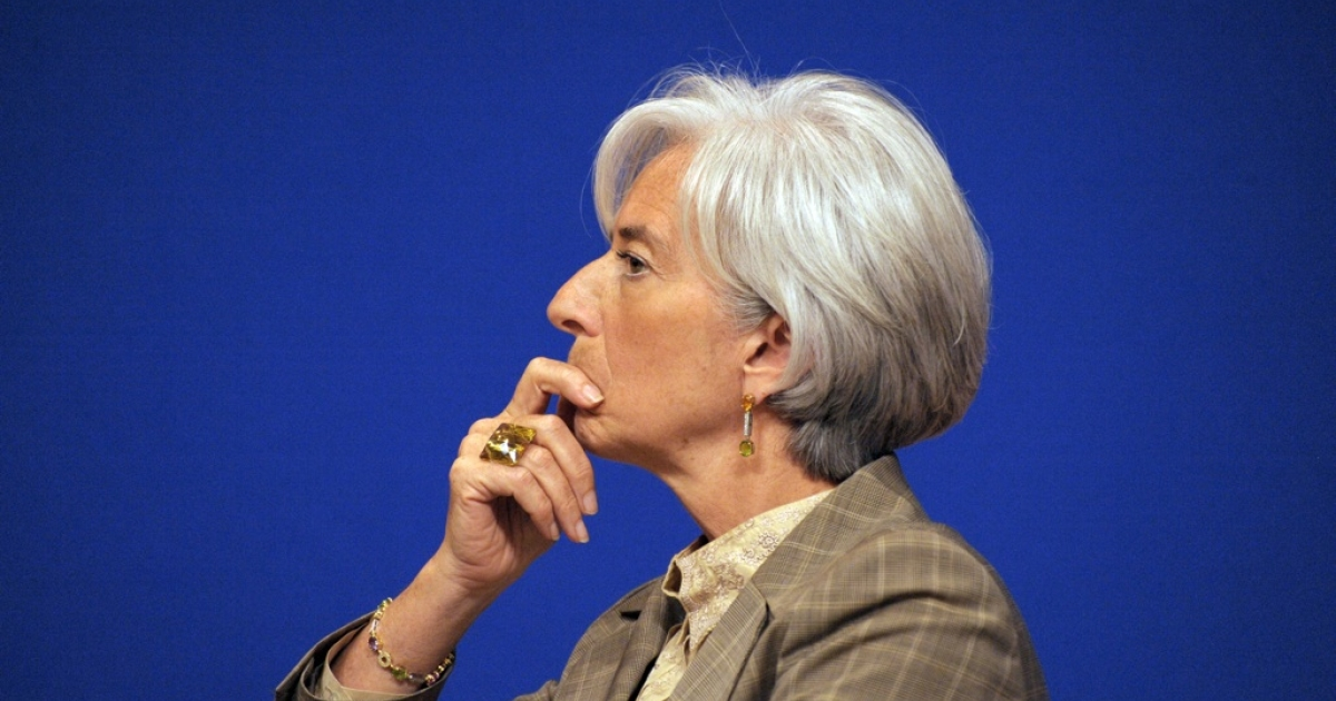 No, IMF chief Christine Lagarde doesn't like what she's seeing in Washington, D.C. these days.</p>