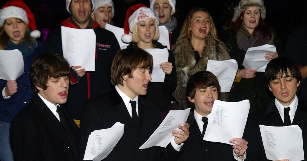 Singing is good for the soul – and will help you get in the festive mood.</p>