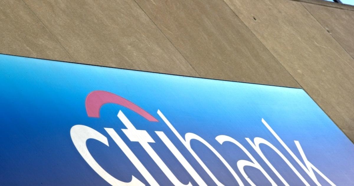 One of Citigroup's retail banks in Washington.</p>
