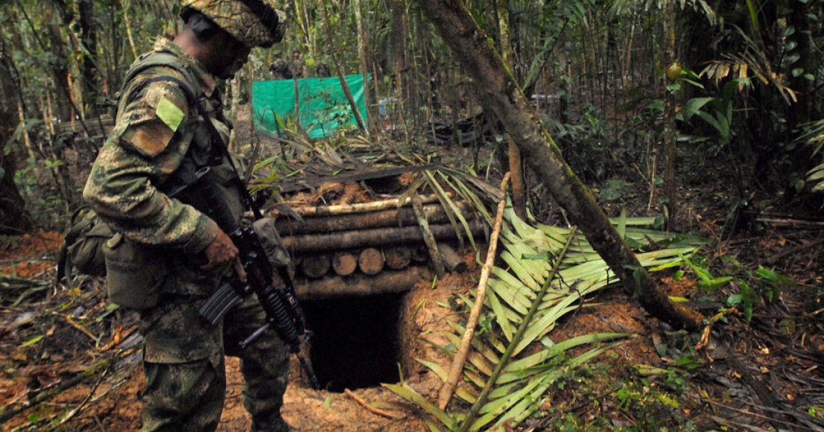 GlobalPost hopes Jhon's underground bunker is as good if not better than this hideout used by Colombia's leftist FARC guerrillas, found in 2009 in the South American country's Meta department.</p>