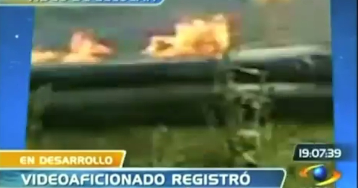 A helicopter crashed in Colombia on May 1, 2012, killing 13.</p>