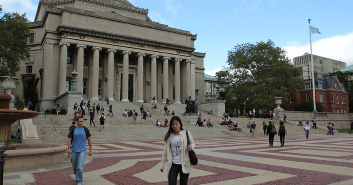 Columbia University campus.</p>
