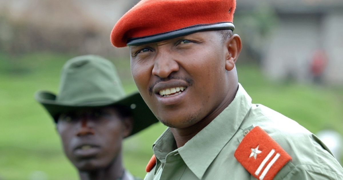 Congolese military leader Bosco Ntaganda is wanted by the International Criminal Court for war crimes. Now Democratic Republic of Congo President Joseph Kabila also says Ntaganda should be arrested. This photo of Ntaganda was taken on January 11, 2009 at his mountain base in Kabati, near the provincial capital Goma.</p>