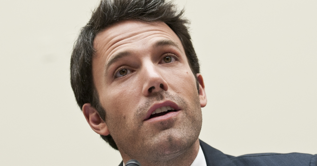 Ben Affleck testifies during a House Foreign Affairs committee hearing on