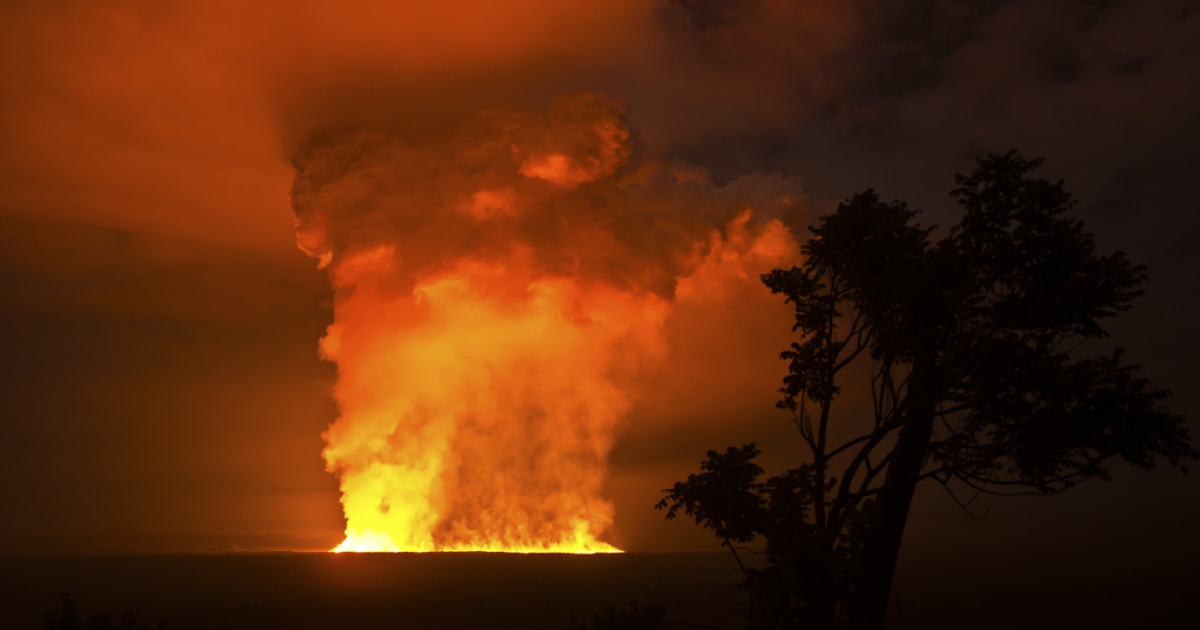 Africa's most active volcano, Nyamuragira (also known as Nyamulagira), located in the Democratic Republic of Congo, began erupting November 6, 2011.</p>