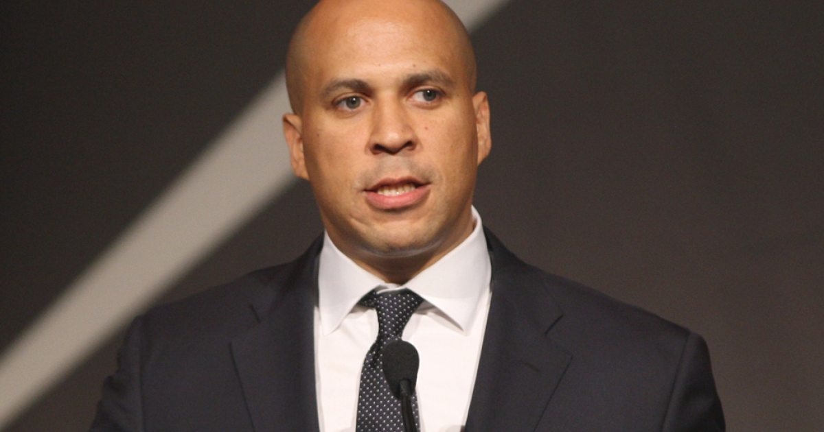 US President Barack Obama endorsed Newark Mayor Cory Booker for New Jersey's open Senate seat.</p>