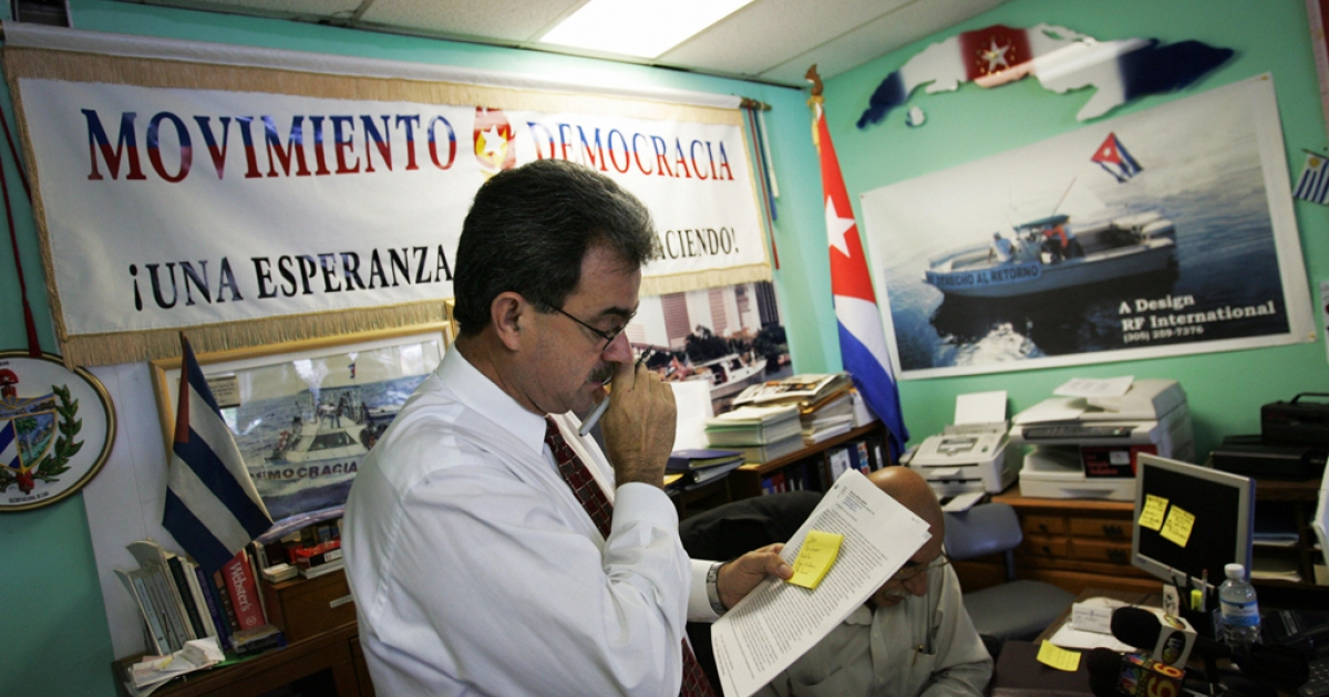 President of Movement Democracy, Ramon Saul Sanchez, says a fleet of Cuban exiles plan to set off fireworks near Havana in an act of solidarity with groups who advocate for democracy in Cuba.</p>