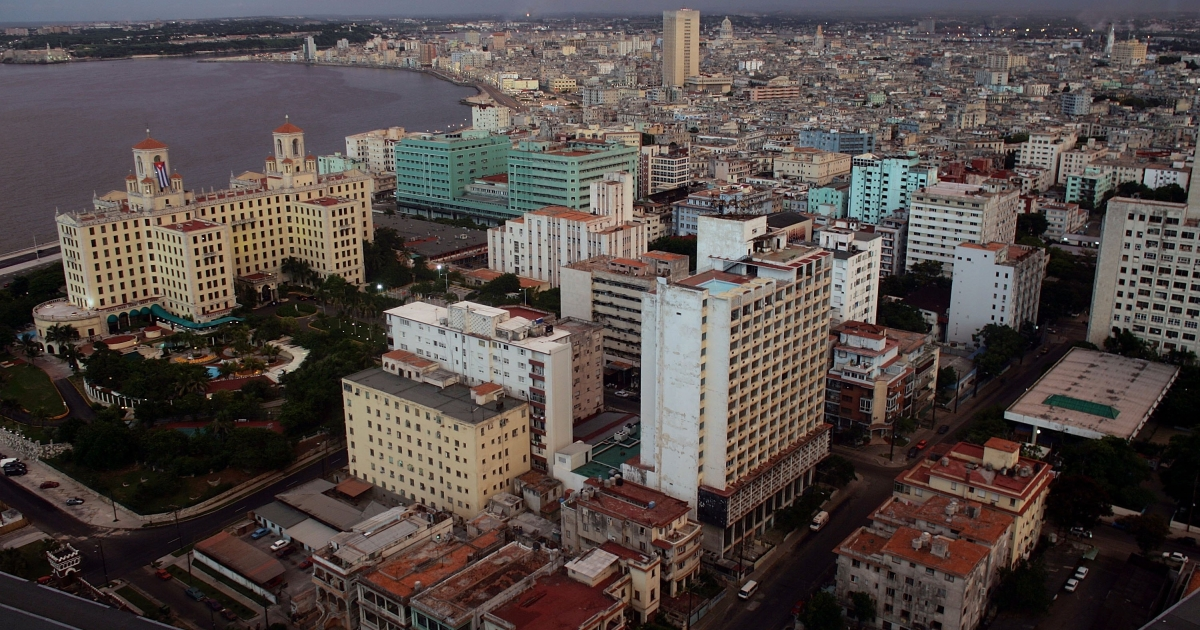The skyline of Havana.</p>