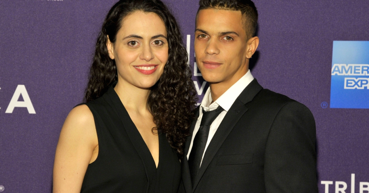 Writer/Director Lucy Mulloy and actor Dariel Arrechada attend the