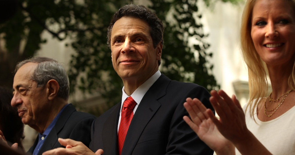 Gov. Cuomo said he may still run for president in 2016, despite reports he would not run against Hillary Rodham Clinton for the democratic nomination.</p>