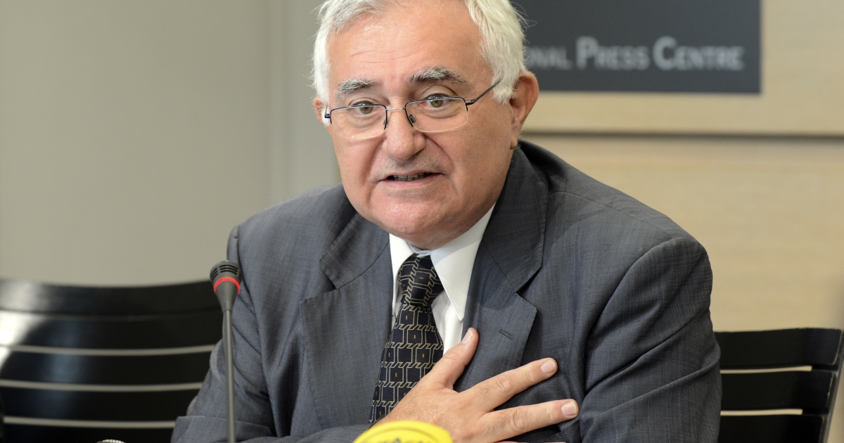 John Dalli on Wednesday. He's speculated the tobacco industry may have tried to compromise him to scuttle his anti-tobacco legislation.</p>