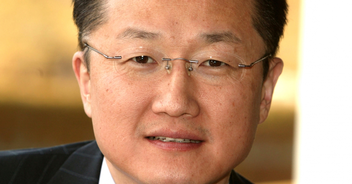 A photo of Jim Yong Kim, president of Dartmouth College.</p>