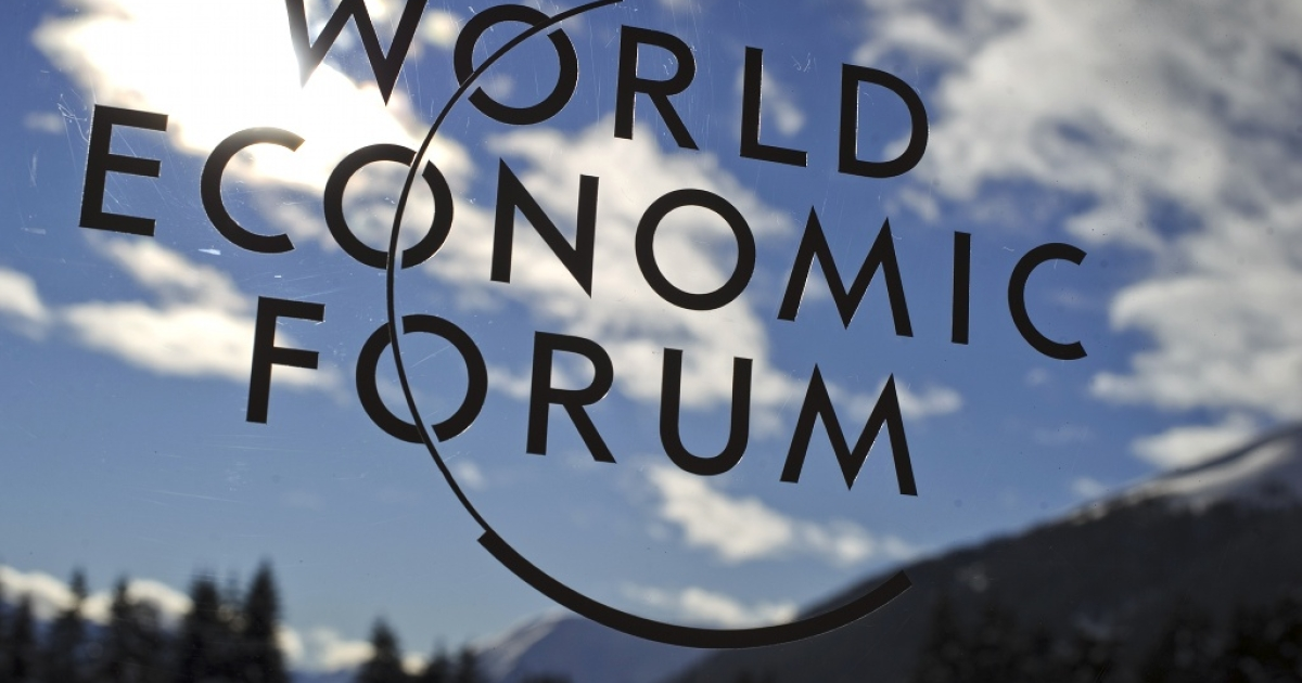 Davos: the euro zone crisis followed the leaders to the Alps</p>