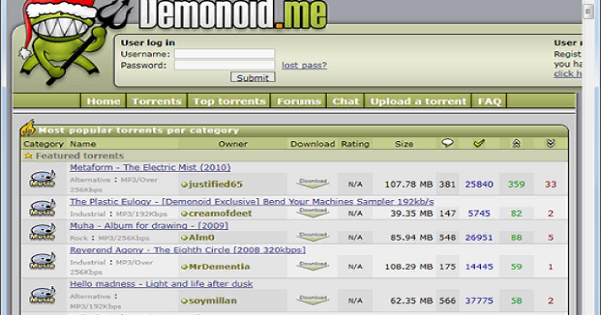 Demonoid</p>