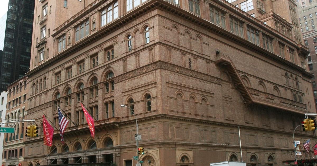 Dietrich Fischer-Dieskau was a regular fixture at New York's Carnegie Hall.</p>