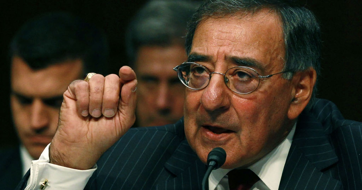 Defense Secretary Leon Panetta speaks during a Senate Armed Services Committee hearing on November 15, 2011 in Washington, DC.</p>