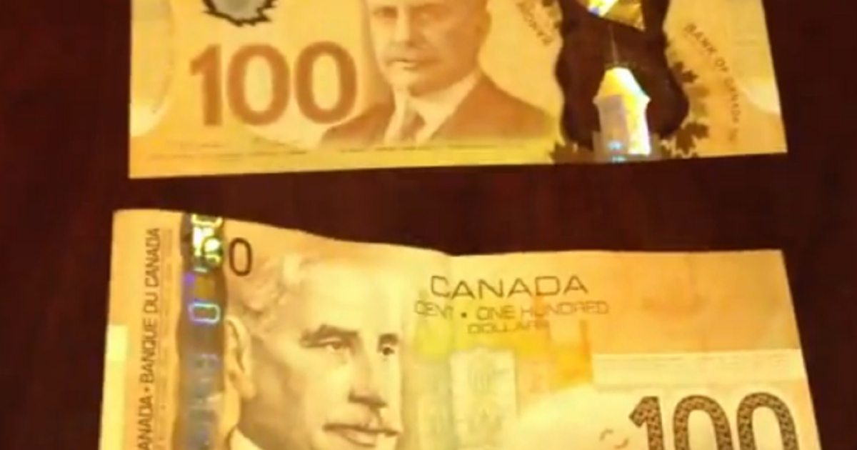 The new Canadian banknotes have mistaken the Norwegian maple for the Canadian one.</p>