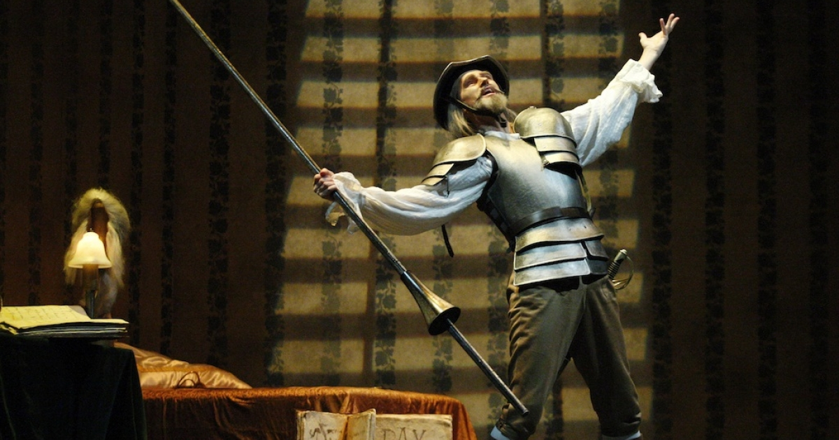 Thomas Mayerhofer perform during the general rehearsal for the ballett Don Quixote at the state opera on February 25, 2011 in Vienna. The classic tale is coming to the big screen, with the help of Disney and Johnny Depp.</p>