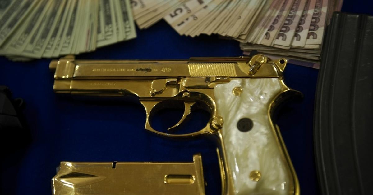 Drug agents follow the money</p>